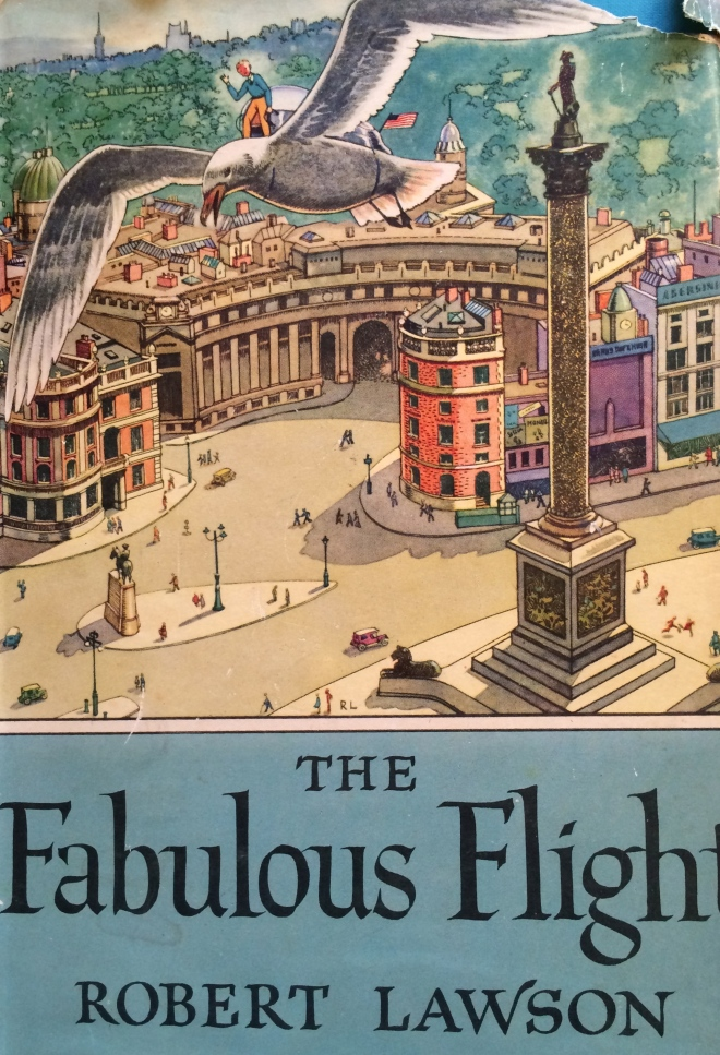 The Fabulous Flight by Robert Lawson I tracked this book down on Ebay -- it was a childhood favorite that I borrowed from the library again and again.