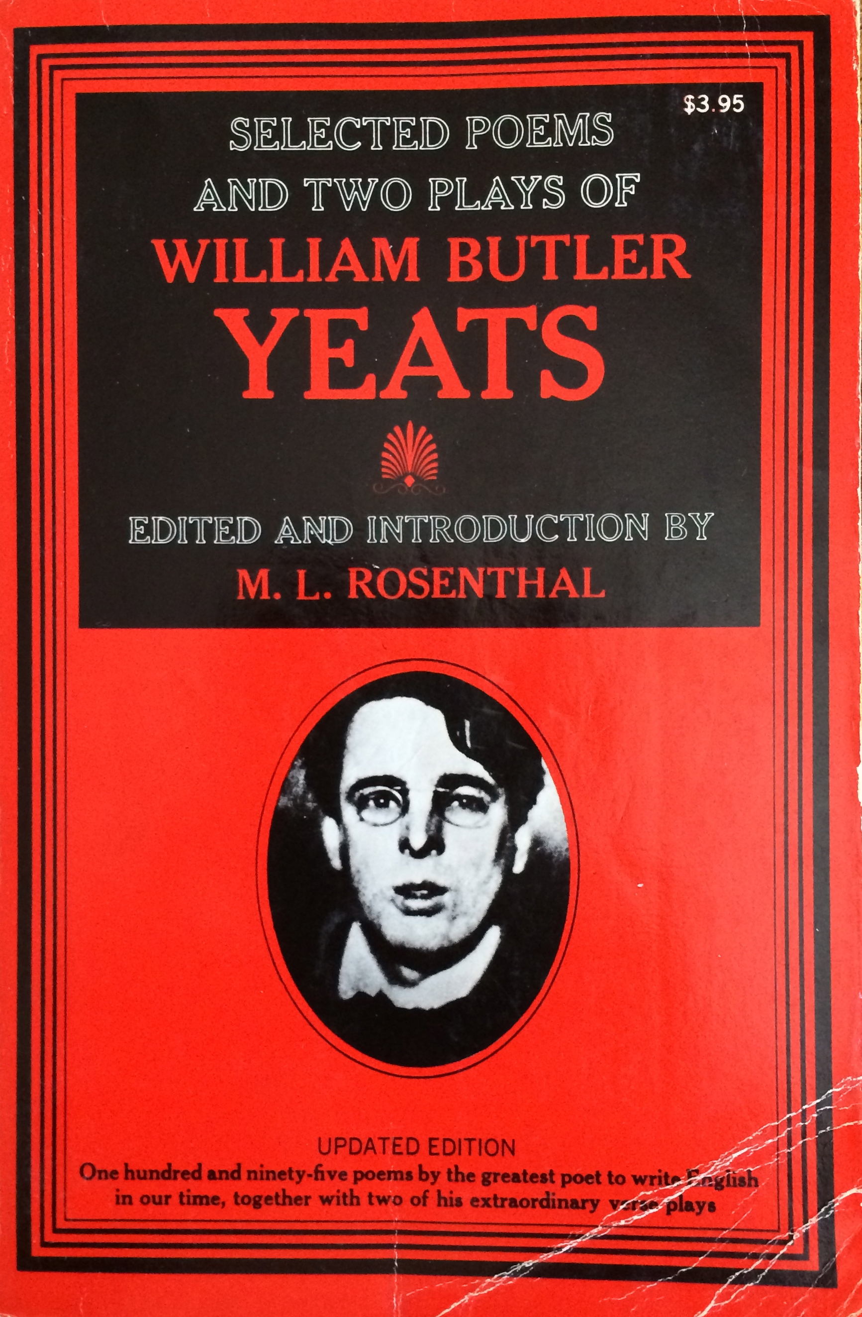 w b yeats essay introduction Essays and introductions yeats, wb (william butler), 1865-1939 macmillan london: 1961.