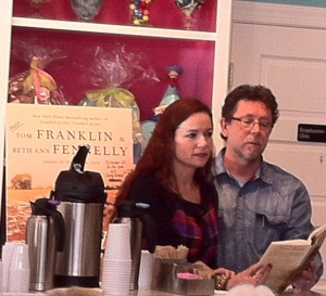 Beth Ann Fennelly and Tom Franklin reading, October 2013