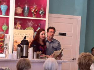 Tom Franklin and Beth Ann Fennelly reading from The Tilted World